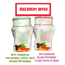 Stevia powder discovery offer - GOOD TASTE OF SUGAR WITHOUT THE CALORIES