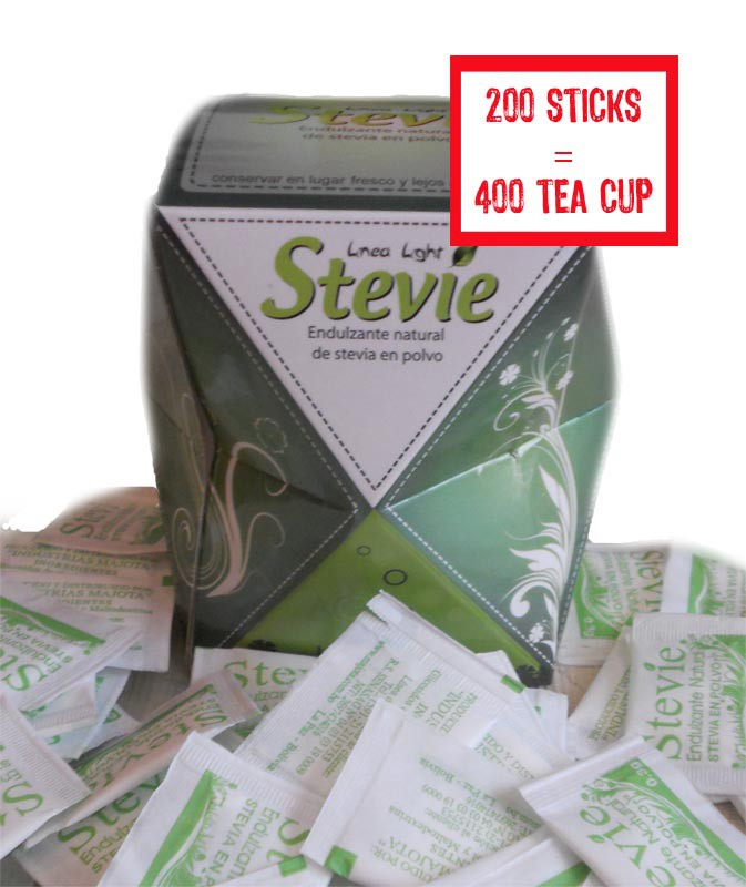 Sticks of stevia