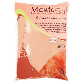 Pink salt from the Andes - Pack 800gr