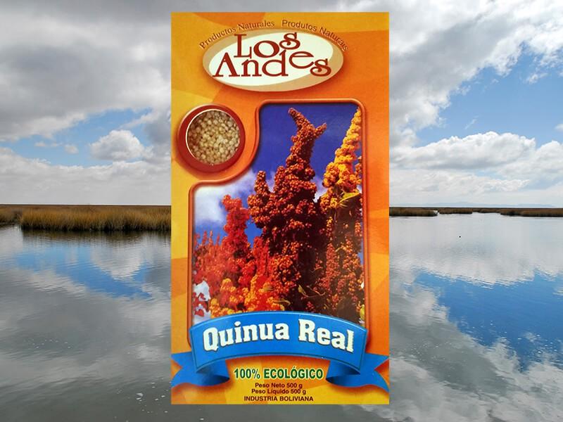 Quinoa bio des Andes