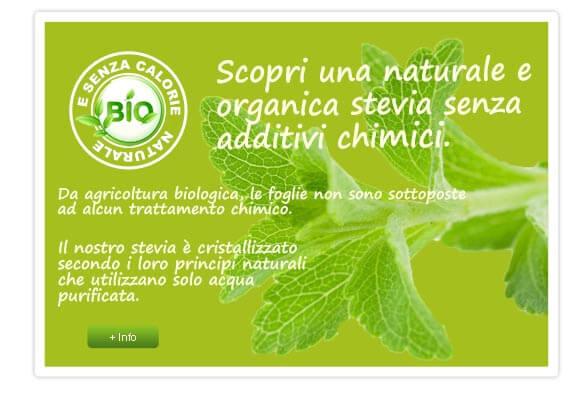 stevia naturali e biologici
