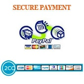 Secured payement with paypal and 2 checkout