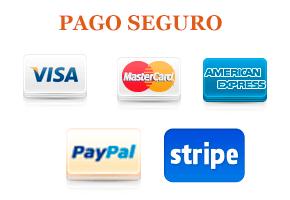 Pago seguro por Paypal y 2Checkout